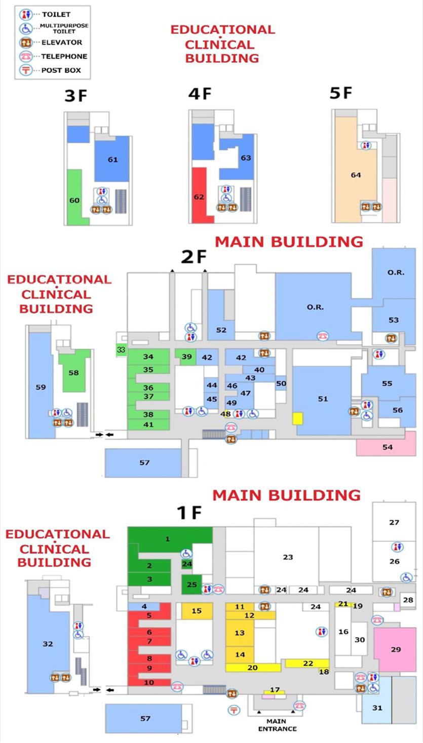 Endoscopy Room Floor Plan: Dokkyo Medical University